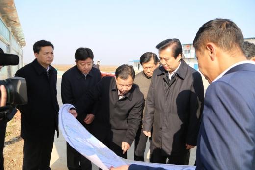 湖北省常务副省长黄楚平来我司视察指导工作
